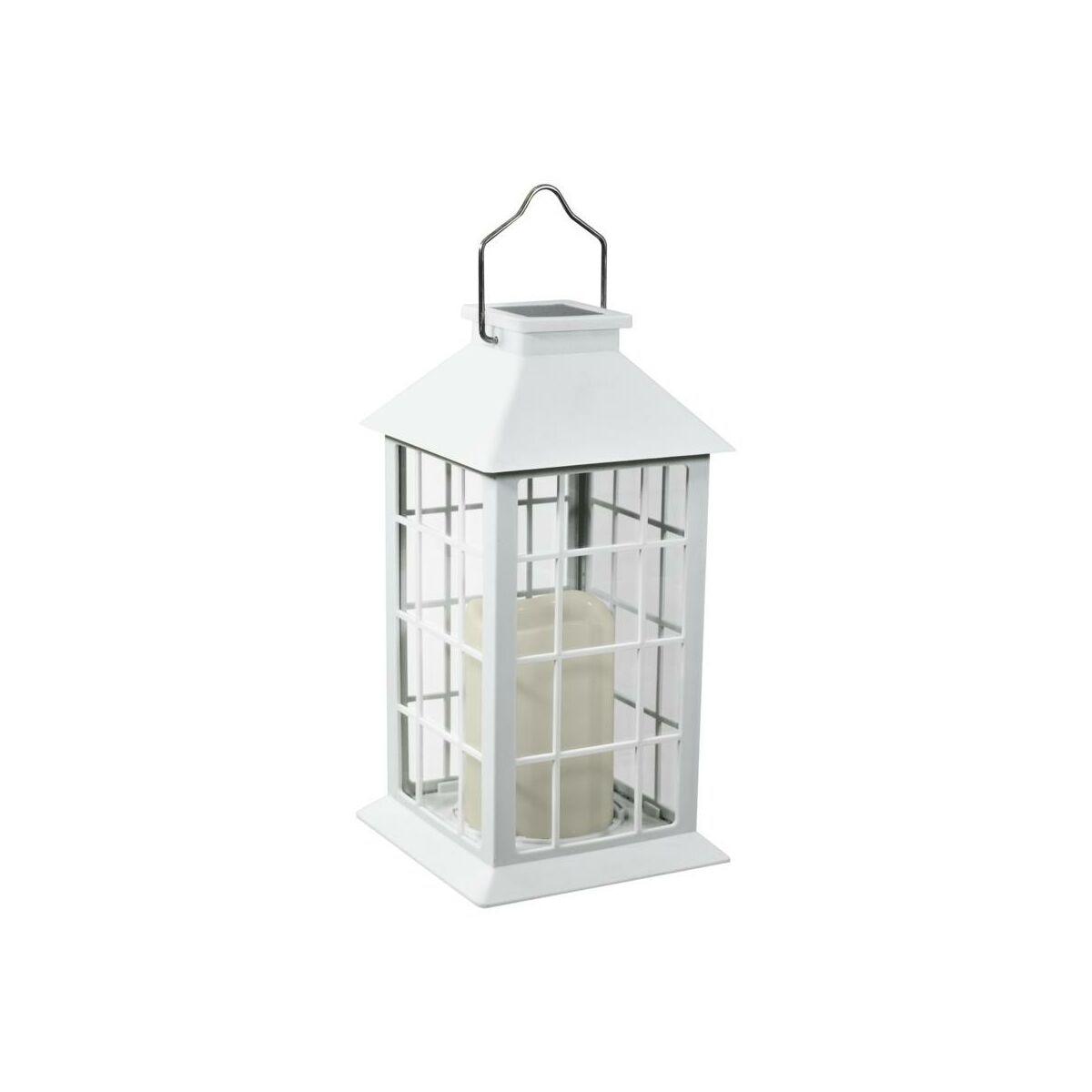 Lampa Solarna Latarenka Ip44 Biala Polux Oswietlenie Ogrodowe Solarne W Atrakcyjnej Cenie W Sklepach Leroy Merlin