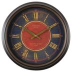 Zegar ścienny WALDORF śr. 40 cm brązowy