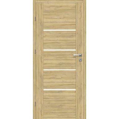 Skrzydło drzwiowe pokojowe Malibu Dąb Bawaria 80 Lewe Voster