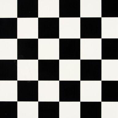 Wykładzina PCV Maxima Eko czarno-biała kafle 2 m