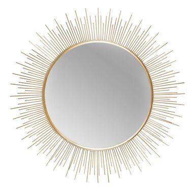 Lustro dekoracyjne PLOMO złote śr. 39.5 cm