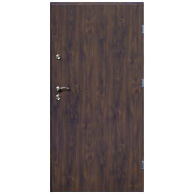 Drzwi wejściowe TRO ARTE Orzech 80 Prawe OK DOORS TRENDLINE