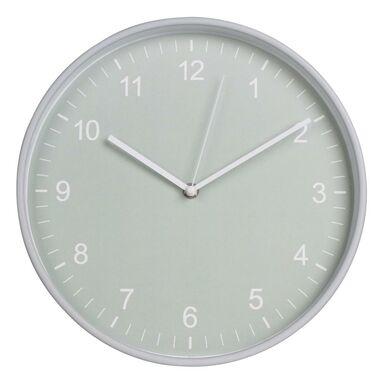 Zegar ścienny MINTYS śr. 30 cm miętowy