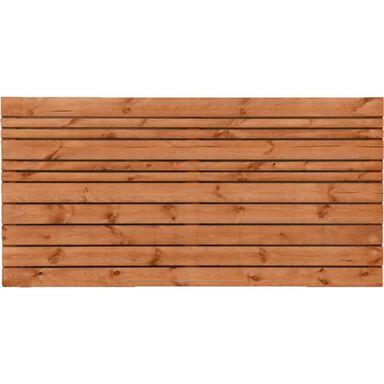 Płot ażurowy 180x90 cm drewniany GOTEBORG wiśnia WERTH-HOLZ