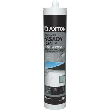 Uszczelniacz FASADY I DACHY 280 ml szary AXTON