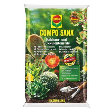 Podłoże do kaktusów 5 l COMPO SANA