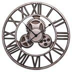 Zegar ścienny AZTEC śr. 45 cm stalowy