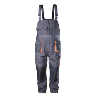 Spodnie ogrodniczki r. M/50 szare CLASSIC NORDSTAR
