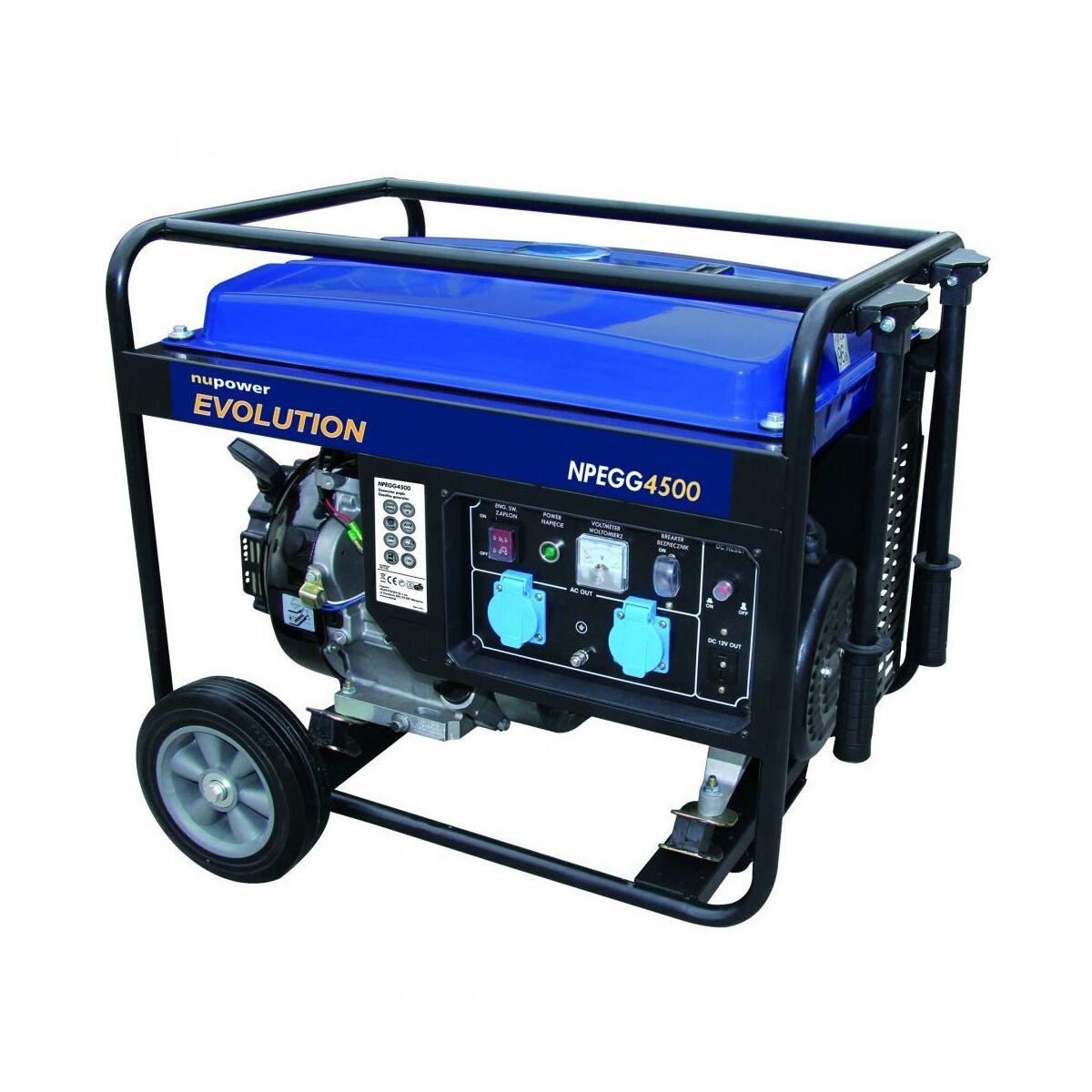 Generator pr dotw rczy npegg4500 nupower agregaty for Generatore hyundai leroy merlin