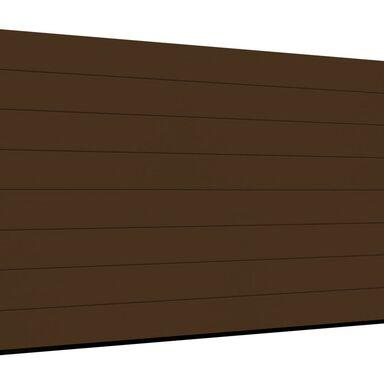 Brama garażowa segmentowa z napędem Isomatic 42 brązowa 2500x2125 mm Hormann