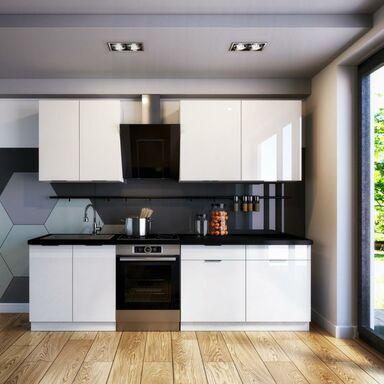 Zestaw mebli kuchennych MIR BIS AKRYL kolor Biały CLASSEN