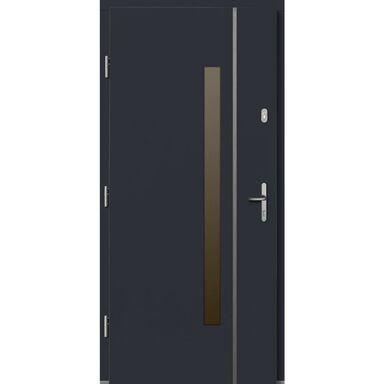 Drzwi wejściowe KALIPSO Antracyt 90 Lewe