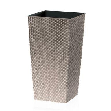 Osłonka plastikowa 32.5 x 32.5 cm beżowa RATO SQUARE PROSPERPLAST