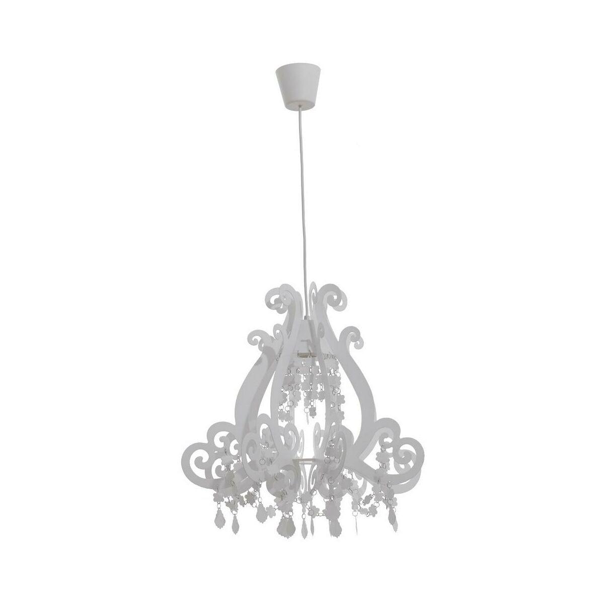 Lampa Wiszaca Inka Biala E27 Oriva Ab Zyrandole Lampy Wiszace I Sufitowe W Atrakcyjnej Cenie W Sklepach Leroy Merlin