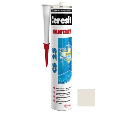 Silikon sanitarny  CS-25 280 ml Biały CERESIT