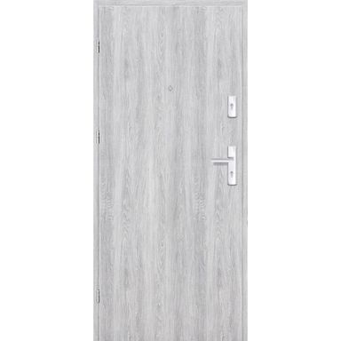 Drzwi wejściowe GRAFEN Dąb srebrny 90 Lewe NAWADOOR