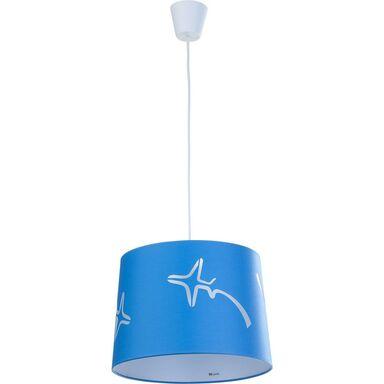 Lampa wisząca AVION niebieska E27 TK LIGHTING