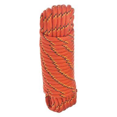 Lina polipropylenowa 125 kg 8 mm x 15 m pleciona pomarańczowa Standers