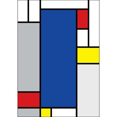 Kanwa Mondrian 70 x 100 cm