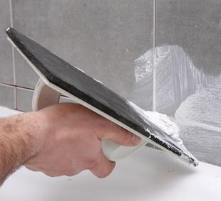prysznic bez brodzika - montaż