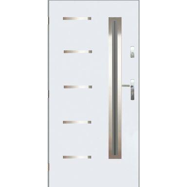 Drzwi wejściowe NIKE Białe '90 Lewe PANTOR