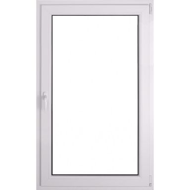 Okno PCV 2-szybowe O30 Białe 865 x 1435 mm