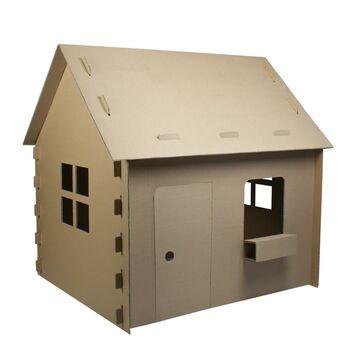 Domek kartonowy dla dzieci 115 x 93 x 110 cm