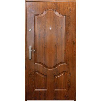 Drzwi wejściowe MAJORKA Złoty dąb 80 Prawe S-DOOR
