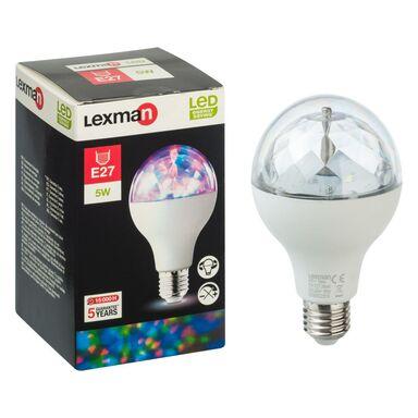 Żarówka dekoracyjna LED E27 DISCO (230 V) 5 W LEXMAN