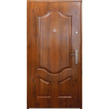 Drzwi wejściowe MAJORKA Złoty dąb 80 Lewe S-DOOR