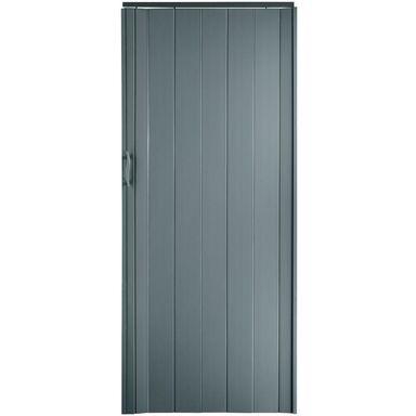 Drzwi harmonijkowe ST 4 Szare STANDOM