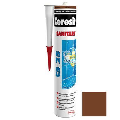 Silikon sanitarny  CS-25 280 ml Brązowy CERESIT