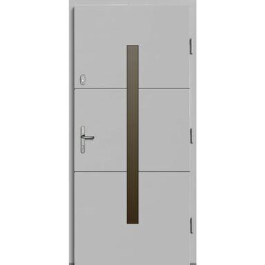 Drzwi wejściowe PROXIMA Białe 90 Prawe