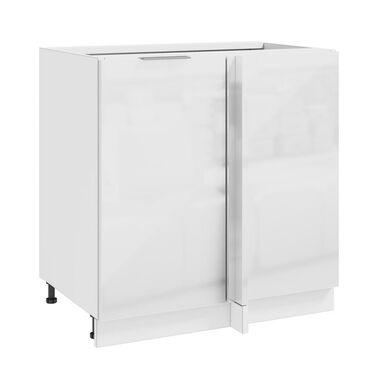 Szafka kuchenna stojąca Mir Bis 80 cm kolor biały