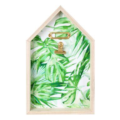 Ramka na zdjęcia z klipsem Foli 10 x 15 cm zielona MDF