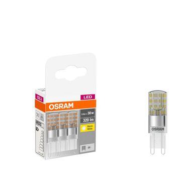 Żarówka LED G9 3 szt. (230V) 2,6W 320 lm Ciepła biel OSRAM