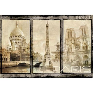 Fototapeta PARIS SEPIA 184 x 254 cm