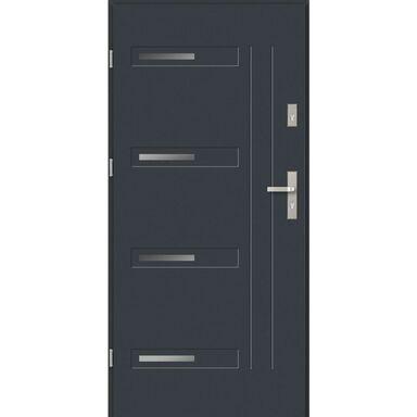 Drzwi wejściowe BARI Antracyt 80 Lewe EVOLUTION
