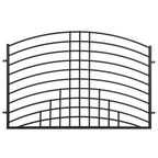 Panel ogrodzeniowy WENUS II 200 cm x 110 - 128 cm POLBRAM
