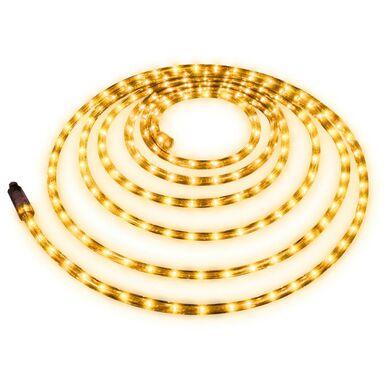 Wąż świetlny zewnętrzny 216 LED 6 m żółty