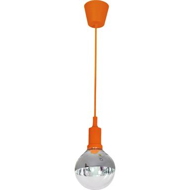 Lampa wisząca BUBBLE pomarańczowa E14 EKO-LIGHT