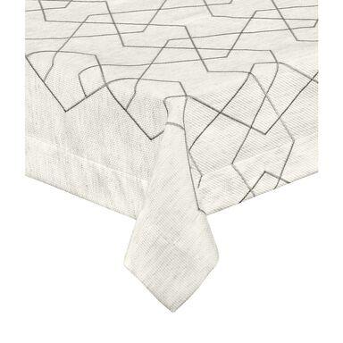 Obrus na stół FILO beżowy 100 x 160 cm