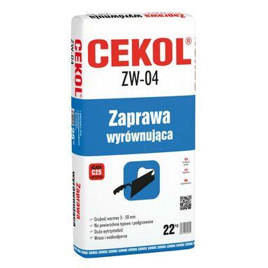 Zaprawa wyrównująca ZW-04 22 kg CEKOL