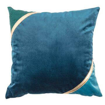Poduszka IDORA niebieska 40 x 40 cm JBY