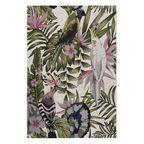Dywan zewnętrzny w liście Borneo zielono-różowy 80 x 150 cm