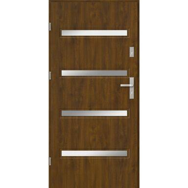 Drzwi wejściowe CAPRI 90 Lewe Złoty dąb EVOLUTION