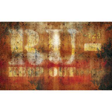 Fototapeta RDZA RU - KEEP OUT 416 x 254 cm