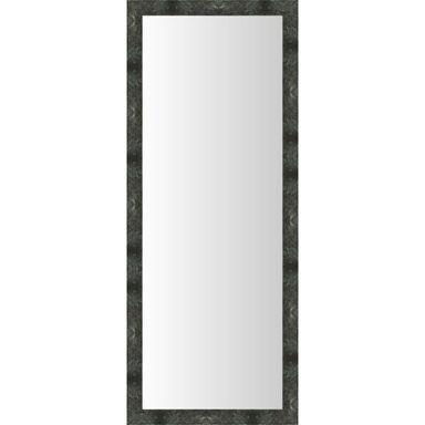 Lustro Marmer czarne 45 x 126 cm w drewnianej ramie