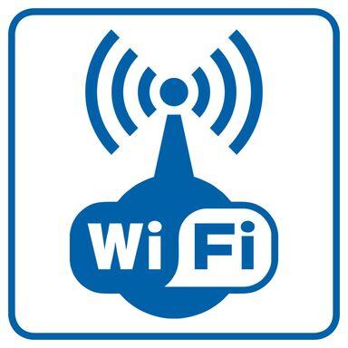 Znak informacyjny WIFI