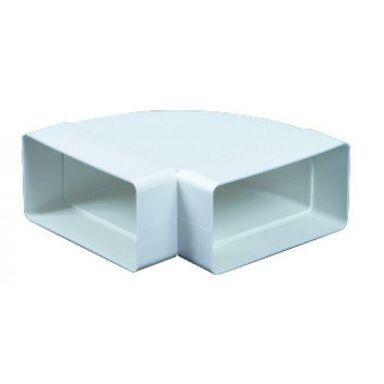 Kolanko wentylacyjne POZIOME PŁASKIE 90° 75 x 150 mm EQUATION